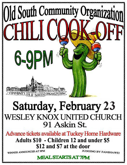 Chili Cookoff 2019
